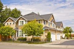 New houses Stock Image