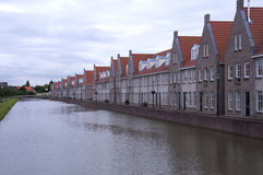 New houses build in holland Royalty Free Stock Photo