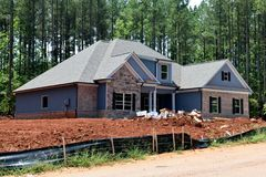 New houses built in Georgia USA Stock Photography