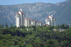 New houses in Crimea, Ukraine Royalty Free Stock Images