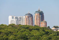 New houses of Kiev Royalty Free Stock Photo