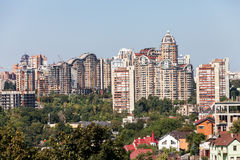 New houses of Kiev Stock Photography