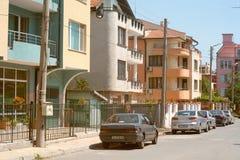 New houses in Sarafovo quarter in Burgas, Bulgaria Stock Image
