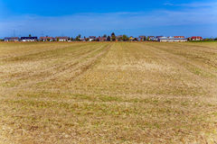 New housing area in ruralty Royalty Free Stock Images