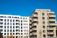 New housing complex in Berlin Royalty Free Stock Photos