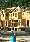New Housing Construction Building Exterior Stock Image