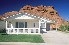 New housing development in a desert community Stock Images