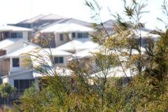 New Housing Development Royalty Free Stock Photos