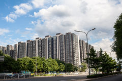 The new housing estate Royalty Free Stock Images