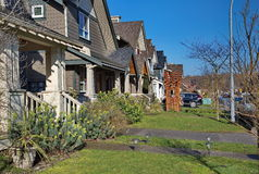 New housing estate Stock Photos