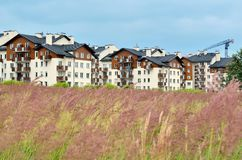 New housing estates. Royalty Free Stock Photography