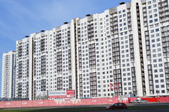 New housing in St. Petersburg, Russia Royalty Free Stock Images