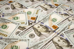 New hundred 100 dollar bills Royalty Free Stock Images