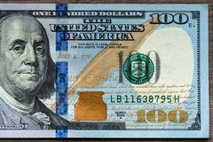 New hundred Dollar Bills Royalty Free Stock Photography