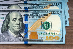 New hundred Dollar Bills Stock Photography