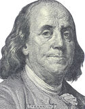 New hundred dollars bill Royalty Free Stock Photography