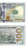 New hundred dollars bill Royalty Free Stock Photo