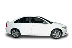 New Hybrid Car Royalty Free Stock Images