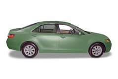 New Hybrid Sedan Car royalty free stock images