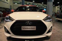 New hyundai concept car face Royalty Free Stock Photos