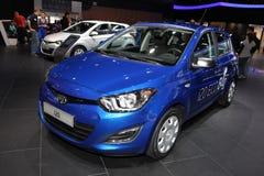 The new Hyundai i20 Royalty Free Stock Photos