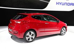 The new Hyundai i30 Royalty Free Stock Images