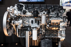 New Hyundai L-Engine Truck Diesel Royalty Free Stock Photos