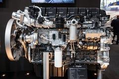 New Hyundai L-Engine Truck Diesel Royalty Free Stock Photos