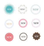 NEW ICON VECTOR Stock Photos