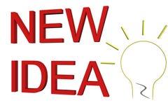 New idea Royalty Free Stock Photography
