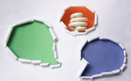 New idea. Chat and have a new idea Stock Photos