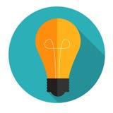 New Idea Flat Concept Vector Illustration Royalty Free Stock Photos