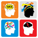New Idea Icon set Stock Photography