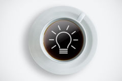 New ideas coffee break background Stock Image