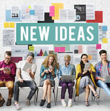 New Ideas Design Objective Proposition Vision Concept Stock Photography
