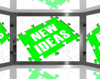 New Ideas On Screen Showing Improved Ideas Stock Photos