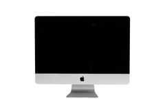 New iMac desktop computer. Mid 2011 model with Apple inc stock image