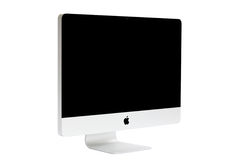 New iMac desktop computer. Mid 2011 model with Apple inc royalty free stock photo