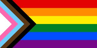 Free New Inclusive LGBTQ+ Flag Royalty Free Stock Images - 220564159