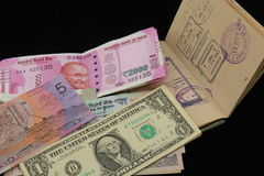 New Indian currency notes Stock Images