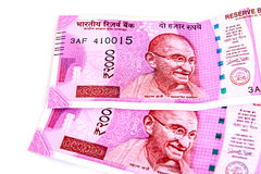 New indian currency Stock Photos