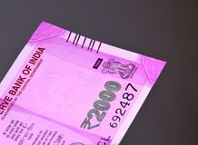 New Indian currency Royalty Free Stock Photos