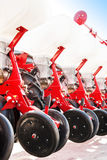 The new industrial agricultural seeder Stock Image