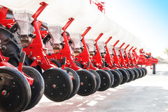 The new industrial agricultural seeder Stock Photography