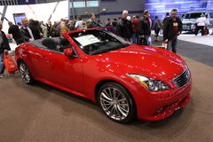 New Infiniti Convertible Royalty Free Stock Images
