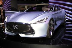 The new Infiniti Q80 concept Stock Images