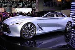 The new Infiniti Q80 concept Royalty Free Stock Images