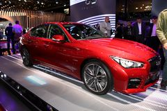 The new Infiniti Q50 Stock Photography