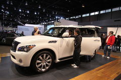 New Infiniti QX56 Royalty Free Stock Photos