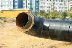 New insulated pipe. Stock Photography